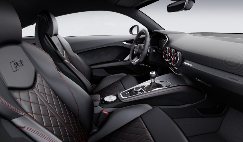 2016 Audi TT RS Coupe, Roadster debut with 400 hp Image #482881