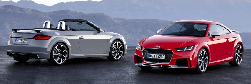 2016 Audi TT RS Coupe, Roadster debut with 400 hp Image #482813