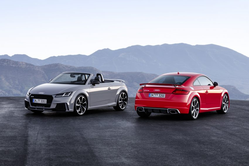 2016 Audi TT RS Coupe, Roadster debut with 400 hp Image #482814