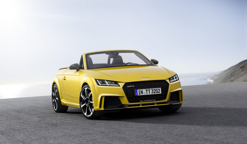 2016 Audi TT RS Coupe, Roadster debut with 400 hp Image #482845