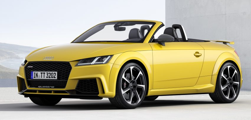 2016 Audi TT RS Coupe, Roadster debut with 400 hp Image #482843