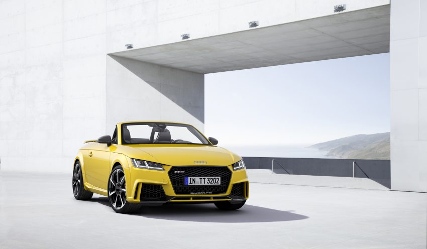 2016 Audi TT RS Coupe, Roadster debut with 400 hp Image #482840