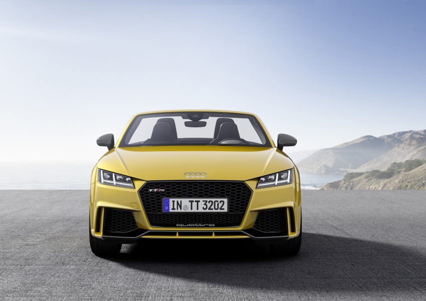 2016 Audi TT RS Coupe, Roadster debut with 400 hp Image #482836