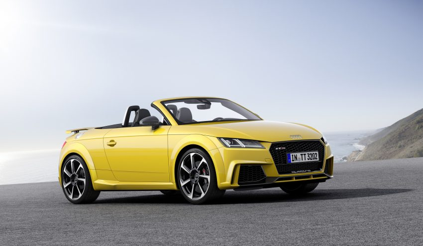 2016 Audi TT RS Coupe, Roadster debut with 400 hp Image #482833