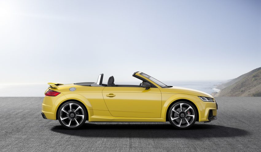 2016 Audi TT RS Coupe, Roadster debut with 400 hp Image #482829