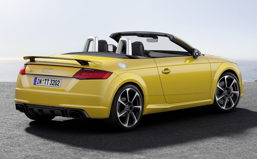 2016 Audi TT RS Coupe, Roadster debut with 400 hp Image #482825