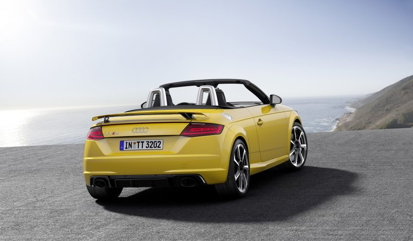 2016 Audi TT RS Coupe, Roadster debut with 400 hp Image #482821