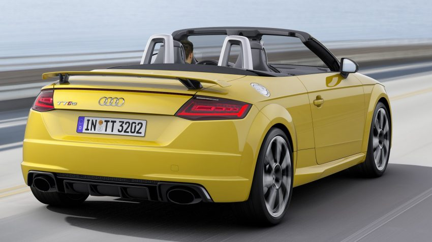 2016 Audi TT RS Coupe, Roadster debut with 400 hp Image #482818