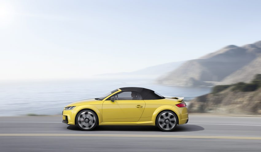 2016 Audi TT RS Coupe, Roadster debut with 400 hp Image #482817