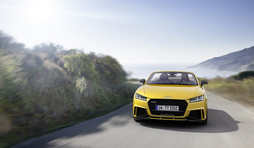 2016 Audi TT RS Coupe, Roadster debut with 400 hp Image #482816