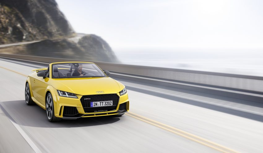 2016 Audi TT RS Coupe, Roadster debut with 400 hp Image #482815