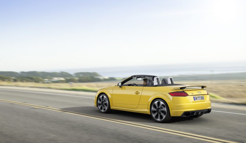 2016 Audi TT RS Coupe, Roadster debut with 400 hp Image #482842