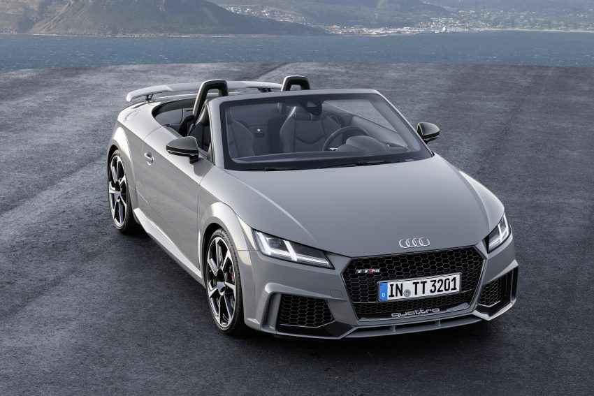 2016 Audi TT RS Coupe, Roadster debut with 400 hp Image #482812