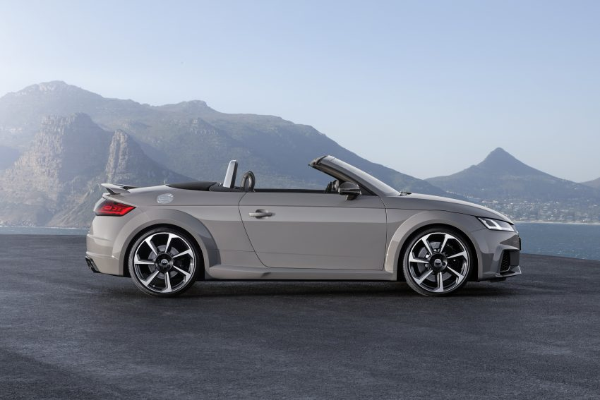 2016 Audi TT RS Coupe, Roadster debut with 400 hp Image #482807