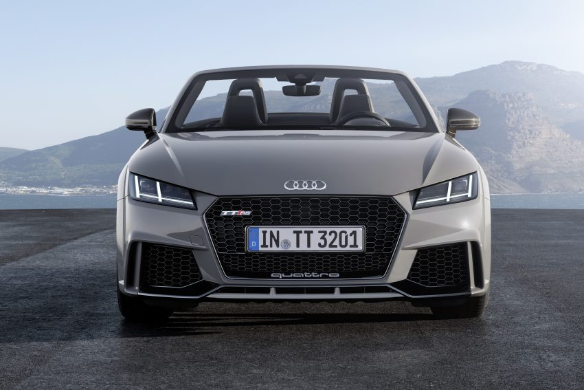 2016 Audi TT RS Coupe, Roadster debut with 400 hp Image #482811