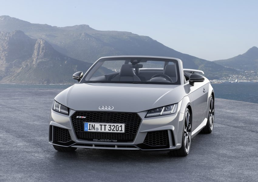 2016 Audi TT RS Coupe, Roadster debut with 400 hp Image #482808