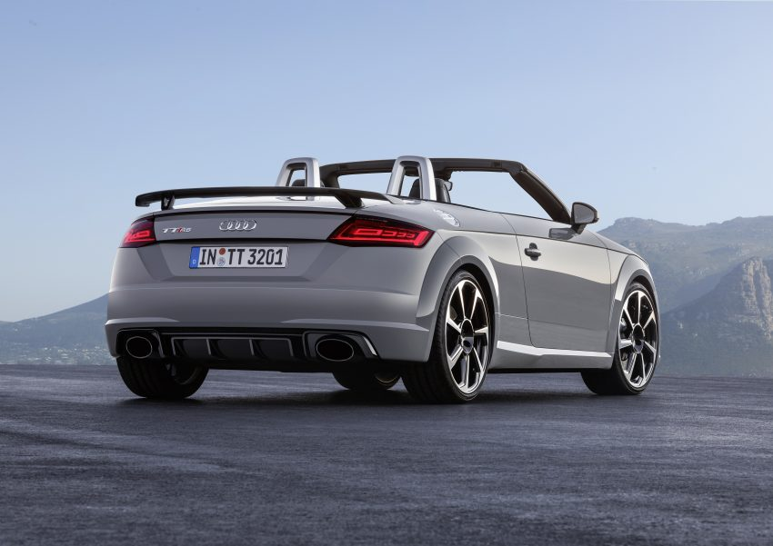 2016 Audi TT RS Coupe, Roadster debut with 400 hp Image #482809