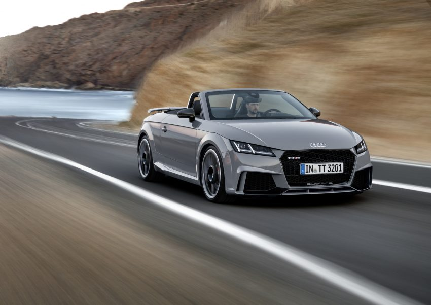 2016 Audi TT RS Coupe, Roadster debut with 400 hp Image #482805
