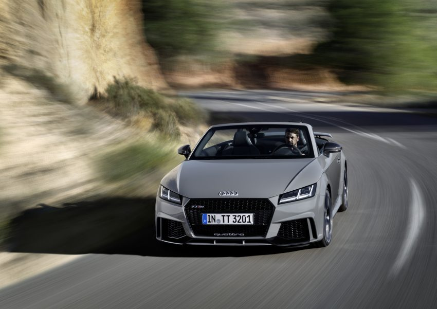 2016 Audi TT RS Coupe, Roadster debut with 400 hp Image #482804