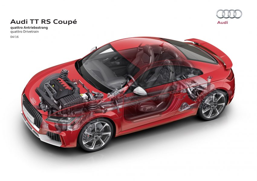 2016 Audi TT RS Coupe, Roadster debut with 400 hp Image #482871