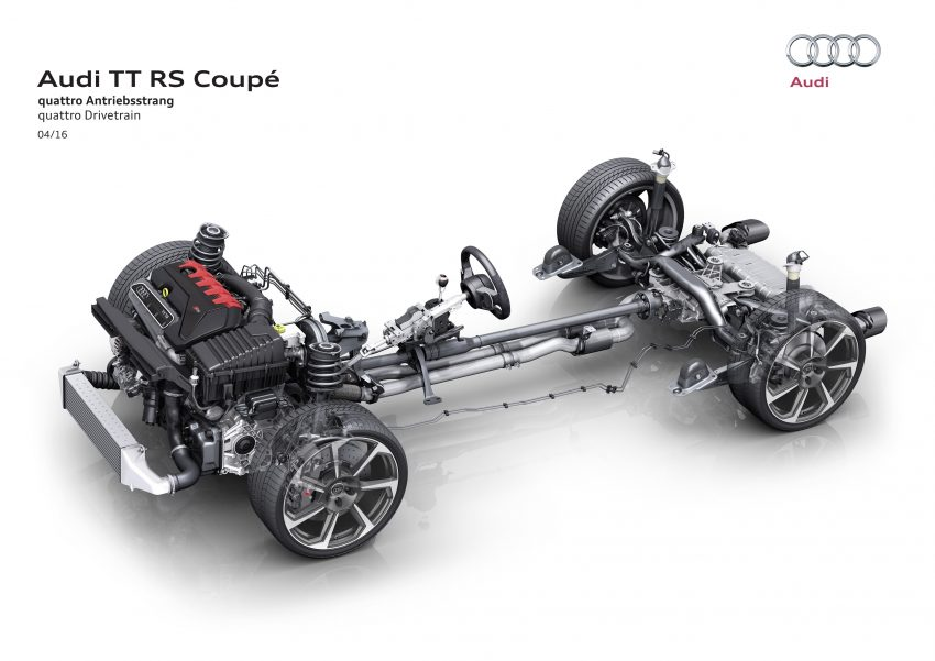 2016 Audi TT RS Coupe, Roadster debut with 400 hp Image #482870