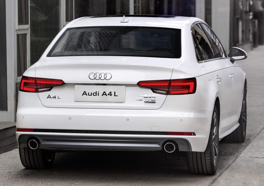 2016 B9 Audi A4 L – long-wheelbase model for China Image #482903