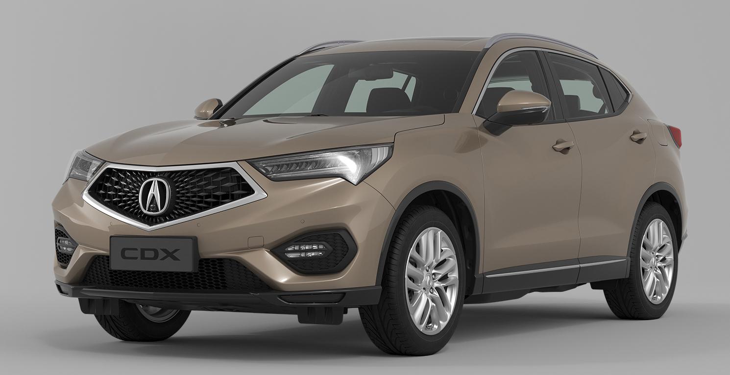 Acura CDX debuts in Beijing – HR-V based crossover Paul ...