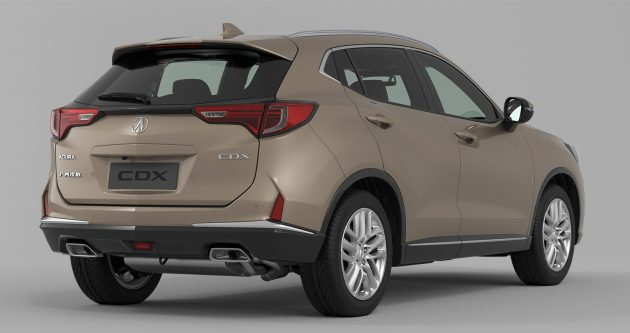 Acura CDX official Beijing 2016 7