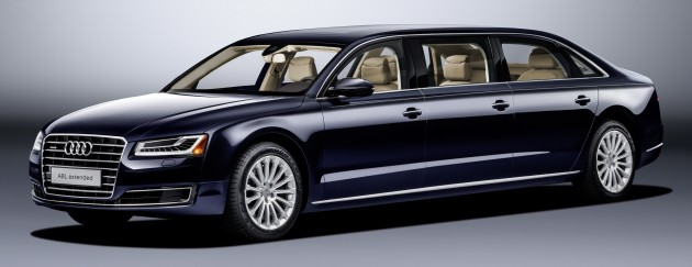 Next Audi A8 to include extra-long wheelbase, coupe?
