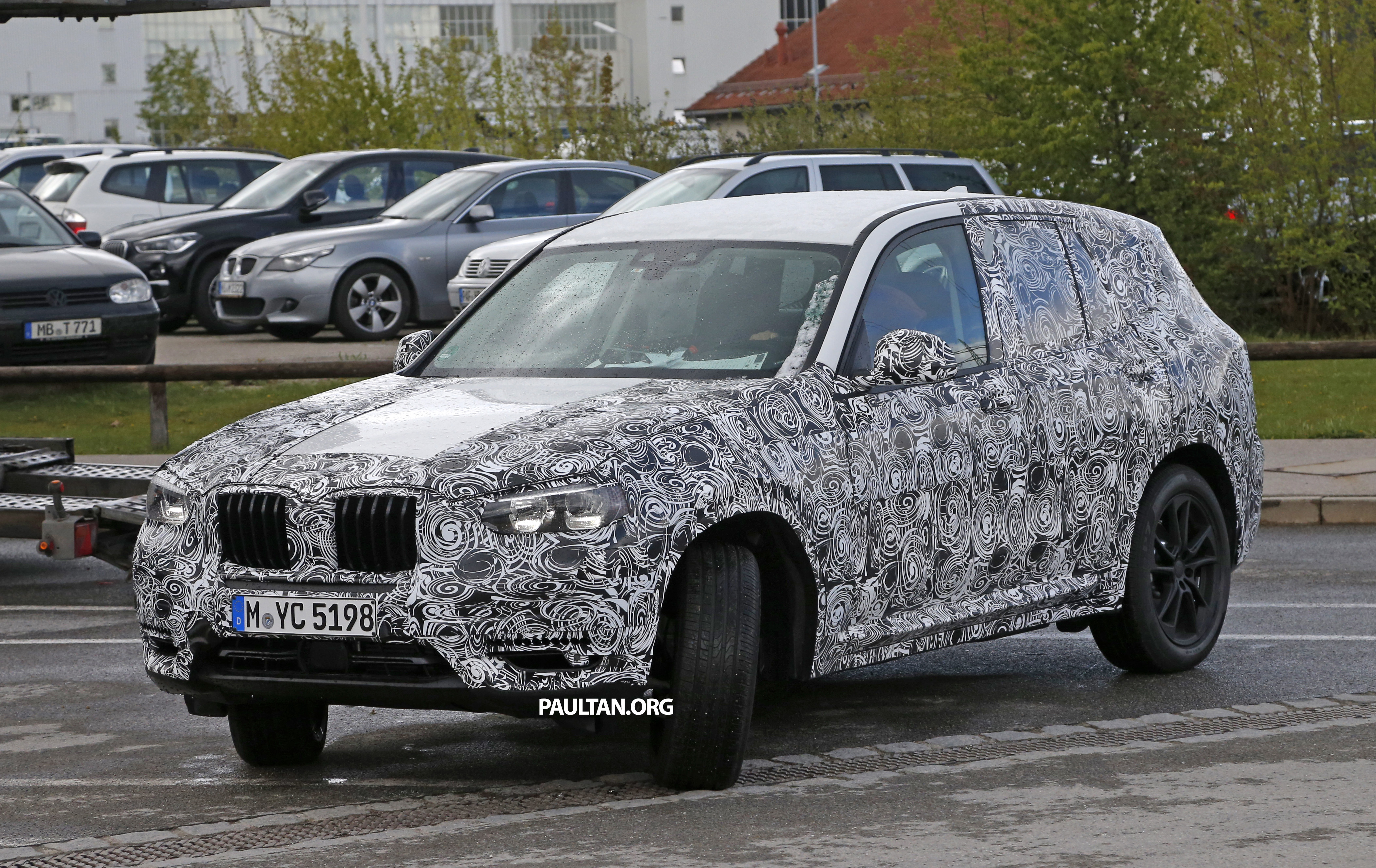 Spyshots G01 Bmw X3 Shows Us Its New Interior Image 485454