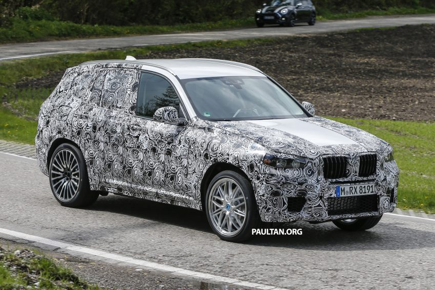 SPIED: New BMW X3 M spotted undergoing testing? Image #484511