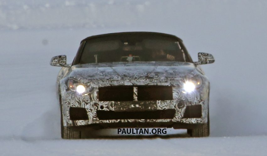 SPIED: BMW Z5 seen testing on snowy terrain again Image #471441