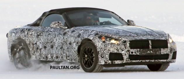 BMW Z5 spyshots-03