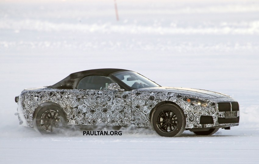 SPIED: BMW Z5 seen testing on snowy terrain again Image #471443
