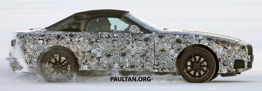SPIED: BMW Z5 seen testing on snowy terrain again Image #471439