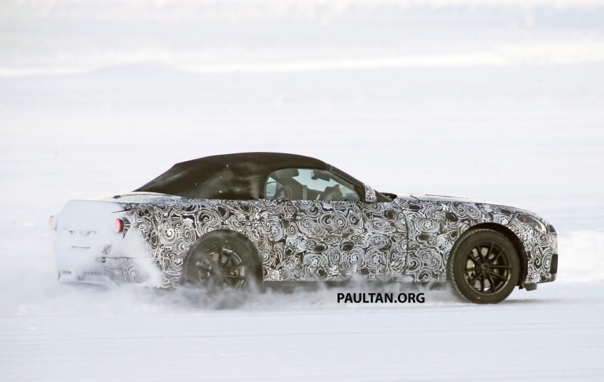 SPIED: BMW Z5 seen testing on snowy terrain again Image #471444