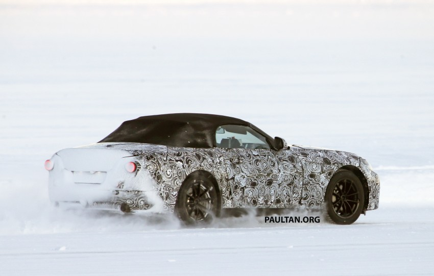SPIED: BMW Z5 seen testing on snowy terrain again Image #471445