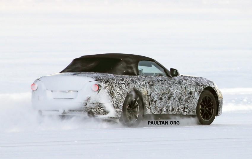 SPIED: BMW Z5 seen testing on snowy terrain again Image #471447