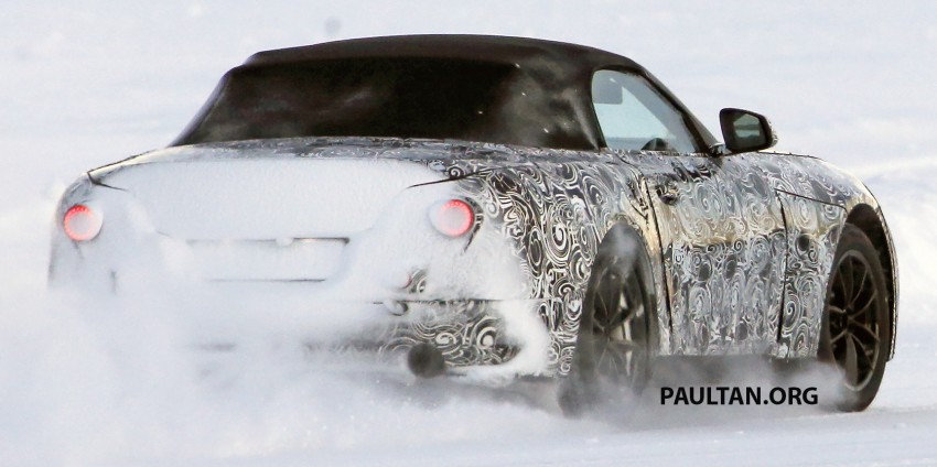 SPIED: BMW Z5 seen testing on snowy terrain again Image #471440