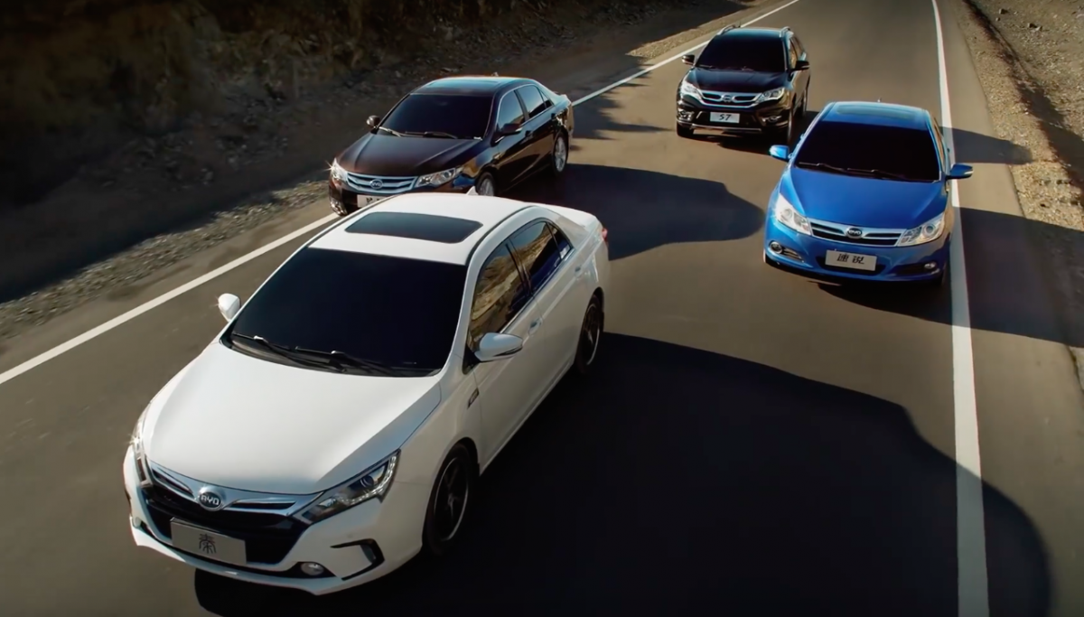 BYD claims it makes the world's best electric cars