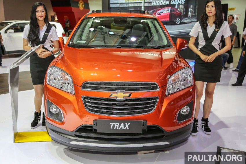 IIMS 2016: Chevrolet Trax – turbo-powered HR-V rival Image #474086