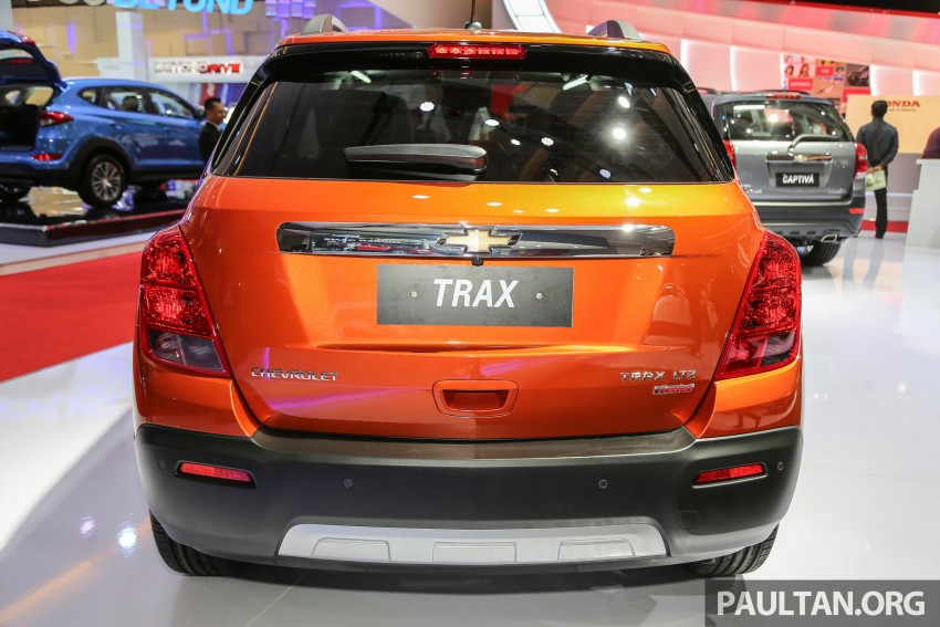 IIMS 2016: Chevrolet Trax – turbo-powered HR-V rival Image #474099