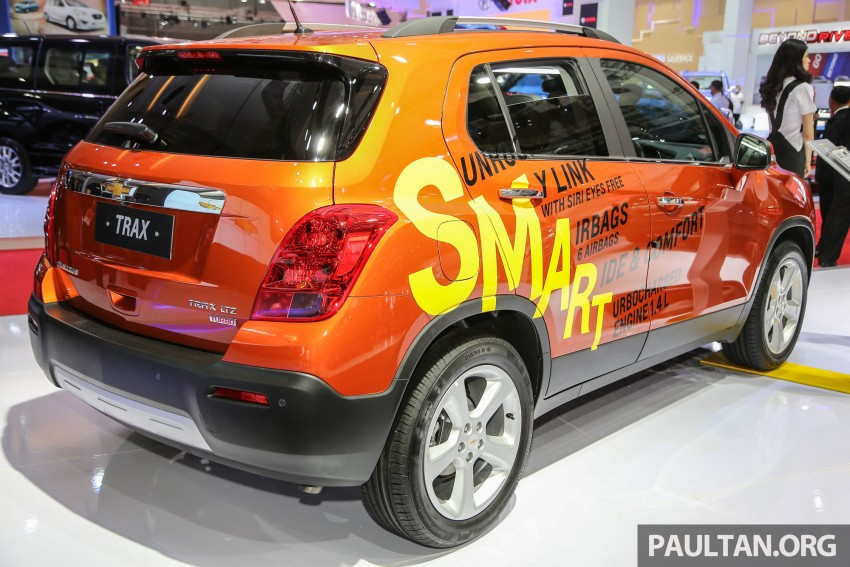 IIMS 2016: Chevrolet Trax – turbo-powered HR-V rival Image #474100