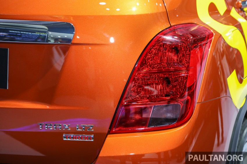IIMS 2016: Chevrolet Trax – turbo-powered HR-V rival Image #474102