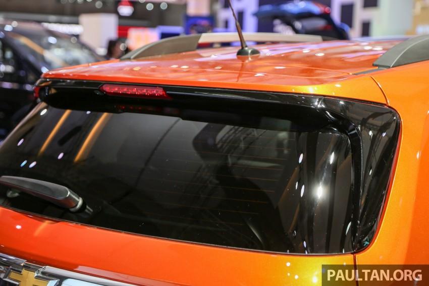 IIMS 2016: Chevrolet Trax – turbo-powered HR-V rival Image #474104