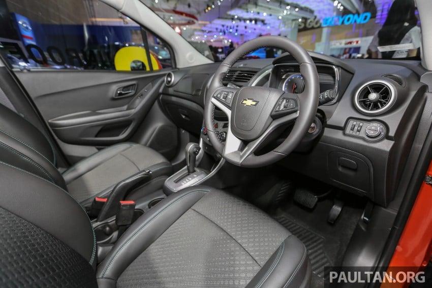 IIMS 2016: Chevrolet Trax – turbo-powered HR-V rival Image #474105