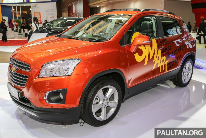 IIMS 2016: Chevrolet Trax – turbo-powered HR-V rival Image #474088