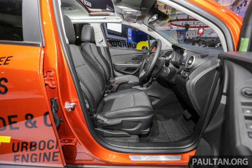 IIMS 2016: Chevrolet Trax – turbo-powered HR-V rival Image #474113