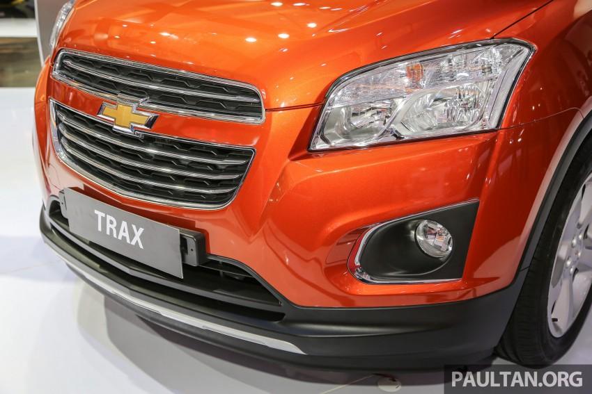 IIMS 2016: Chevrolet Trax – turbo-powered HR-V rival Image #474089