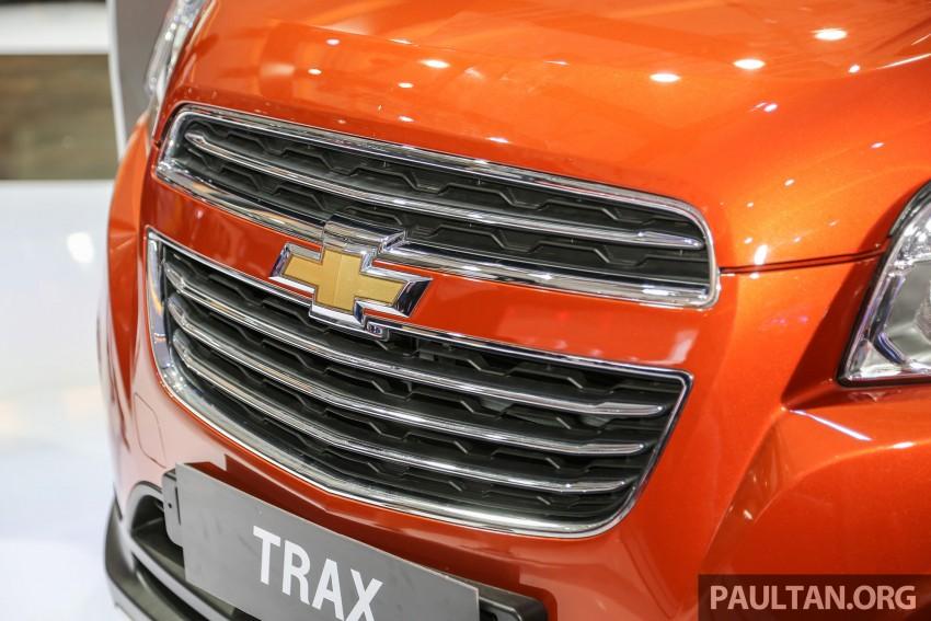 IIMS 2016: Chevrolet Trax – turbo-powered HR-V rival Image #474091